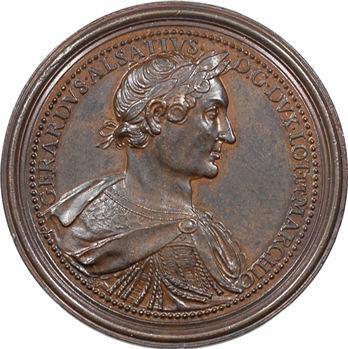 Lorraine : Gérard d'Alsace  (1030-1070) et Hedwige de Namur, s.d. (c.1728) Nancy