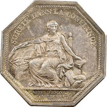 Caisse d'escompte, Louis XVI, 1776 (avant 1781)