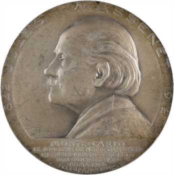 Monaco, Albert Ier, hommage à Jules Massenet, par Szirmaï, 1914 Paris