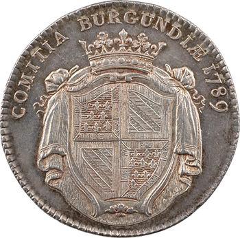 Bourgogne (États de), par Duvivier, 1789 Paris
