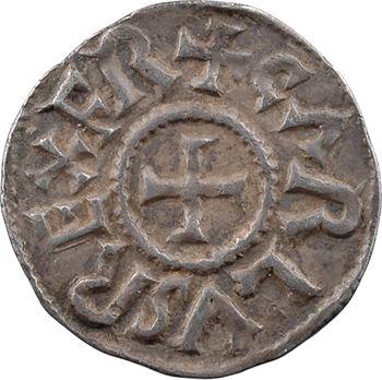 Charlemagne, denier, Tours