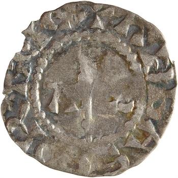 Corbie (abbaye de), denier au nom d'Anscheirus, s.d