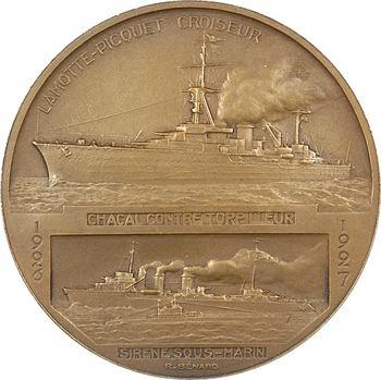 Bénard (R.) : le croiseur Lamotte-Picquet et le contre-torpilleur Chacal, 1927 Paris