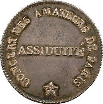 Consulat, société le Concert des amateurs, s.d. (1802)