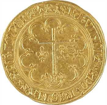 Henri VI, salut d'or 2e émission, Rouen