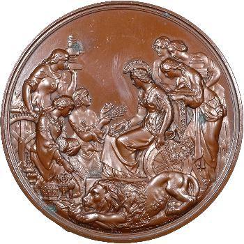 Royaume-Uni, prix de l'exposition de Londres, 1862