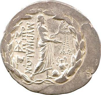 Eolide, tétradrachme stéphanophore, Myrina, 160-150 av. J.-C.