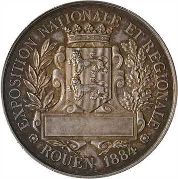 Rouen, Exposition nationale et régionale, 1884 Rouen