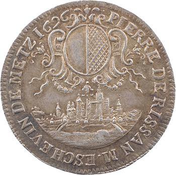 Lorraine, Metz (ville de), P. de Rissan, échevin, 1696
