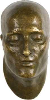 XIXe s., masque mortuaire de Napoléon Ier, par Francesco Antommarchi, s.d. (Susse Frères)