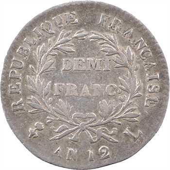 Consulat, demi-franc, An 12 Bayonne