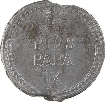 Vatican, Pie IX, bulle papale en plomb, s.d. (1846-1878)
