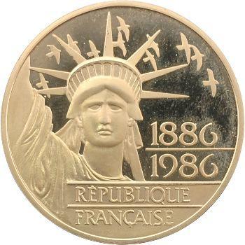 Ve République, 100 francs Liberté, 1986 Pessac