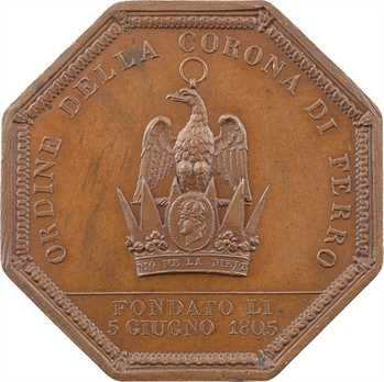 Second Empire / Italie, Napoléon Ier, ordre de la couronne de fer, 1805 Paris
