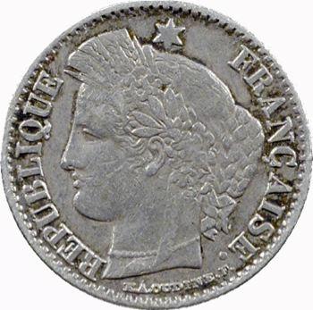 IIe République, 20 centimes Cérès, 1851 Paris