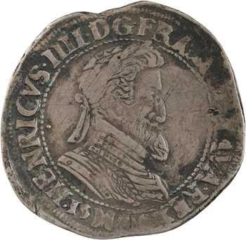 Henri IV, demi-franc, 1599 (?) Toulouse