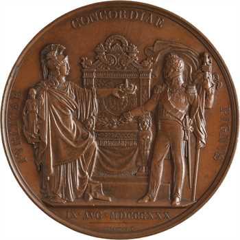Louis-Philippe Ier, avènement du Roi, 1830 Paris