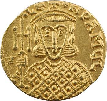 Constantin V et Léon IV, solidus, Constantinople, 741-775