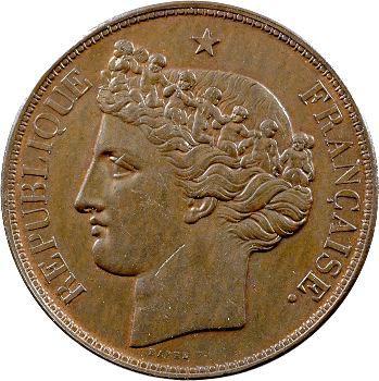 IIe République, essai hybride de 5 francs par Barre et Thonnelier, 1843-1848