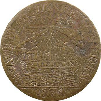 Paris (ville de), service des comptes de la ville, 1574