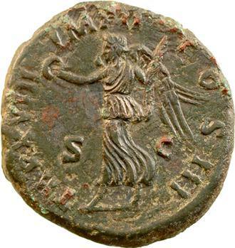 Marc Aurèle, as, Rome, 176-177
