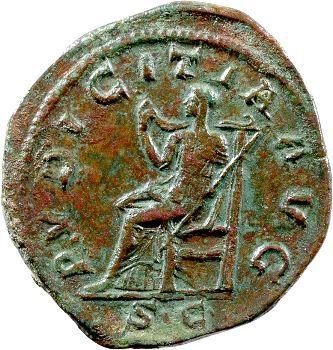 Otacilia Severa, sesterce, Rome, 245