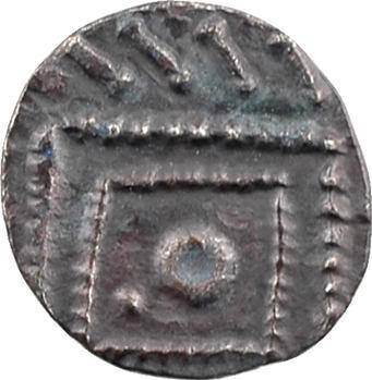 Frise continentale, sceat ou denier à la tête dégénérée (quilled group), type continental, s.d. (c.700-765)