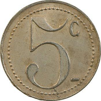 Régiments coloniaux, 5 centimes, Cercle des sous-officiers du 4e Colonial, s.d