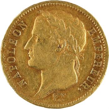 Premier Empire, 40 francs Empire, 1811 Bordeaux