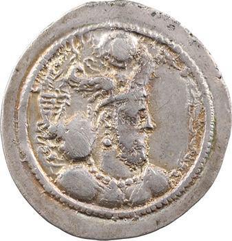 Royaume Sassanide, Barhram IV, drachme, Suse ?, 388-399