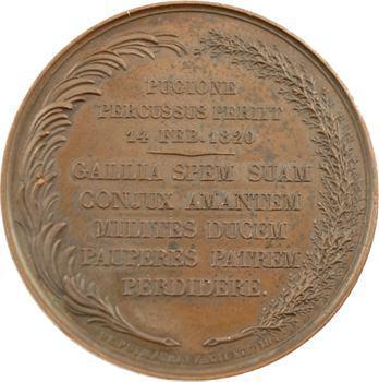 Assassinat du duc de Berry, 14 février 1820 Paris