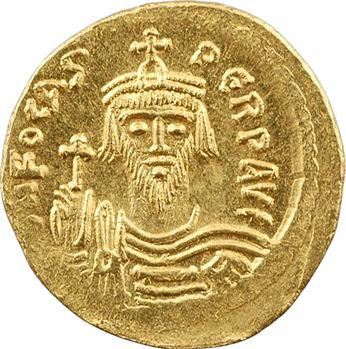 Phocas, solidus, Constantinople, 9e officine, 607-610