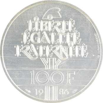 Ve République, essai de 100 francs Liberté, 1986 Pessac