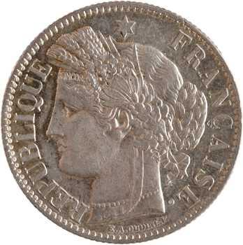 IIIe République, 2 francs Cérès, 1895 Paris