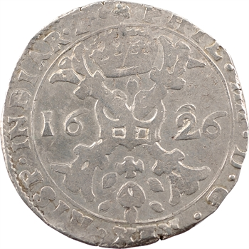 Bourgogne (comté de), Philippe IV, patagon, 1626 Dole