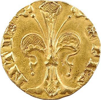 Jean II le Bon, florin d'or, (1360) Montpellier ou Toulouse