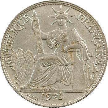 Indochine, 20 centièmes, 1921 Paris