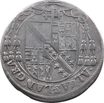 Alsace, Strasbourg (évéché de), Charles de Lorraine, teston ou tiers de thaler