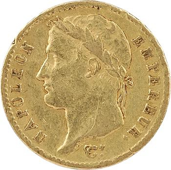 Premier Empire, 20 francs Empire, 1812 Rome