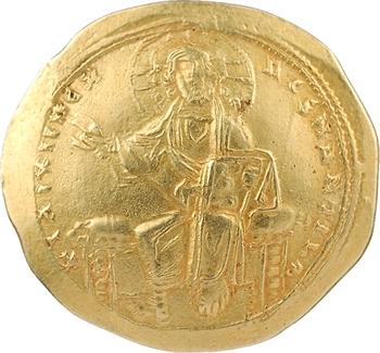 Isaac Ier Comnène, Histaménon nomisma (scyphate), Constantinople, 1057-1059