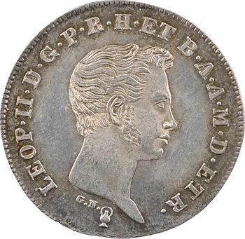 Italie, Toscane (Grand-duché de), Léopold II, paolo, 1831 Florence