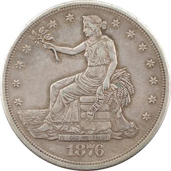 États-Unis, trade dollar, 1876 San Francisco