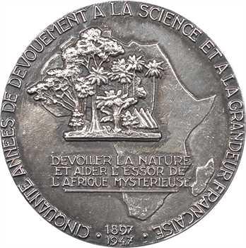 Afrique, cinquantenaire des travaux du professeur Chevalier sur la botanique africaine, par G. Guiraud, 1947 Paris
