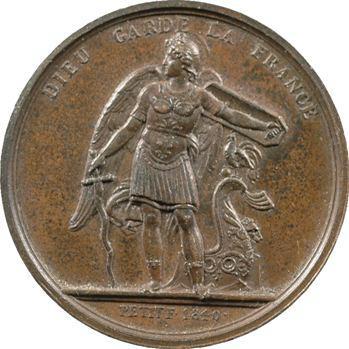 Louis-Philippe Ier, médaille par Petit, 1840 Paris