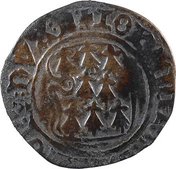 Bretagne (duché de), Jean V, blanc à la targe, s.d. (après 1436) Dinan