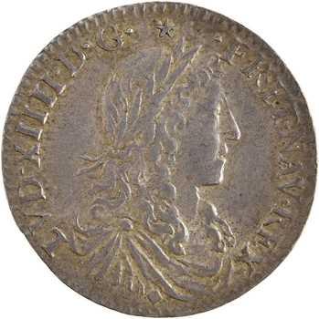Louis XIV, douzième d'écu au buste juvénile, 1660 Lyon