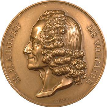 Domard (J.-F.) : hommage à Voltaire, s.d. (refrappe) Paris