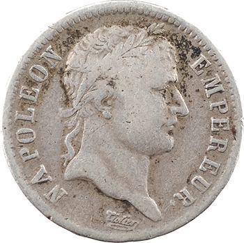 Premier Empire, 1 franc République, 1808 Rouen