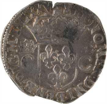 Charles IX, teston 2e type, 1575 Rennes