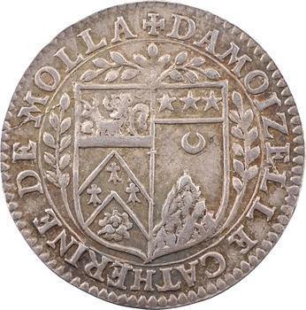 Lyonnais, Lyon, mariage de Jacques d'Aveine et Catherine de Molla, c.1582